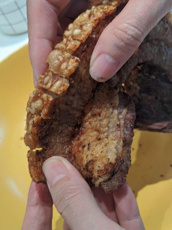 Heo quay giòn bì - Thịt Heo quay giòn bằng nồi chiên không dầu cực ngon mì ăn liền 9