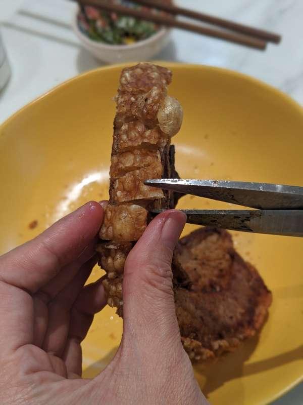 Heo quay giòn bì - Thịt Heo quay giòn bằng nồi chiên không dầu cực ngon mì ăn liền 10