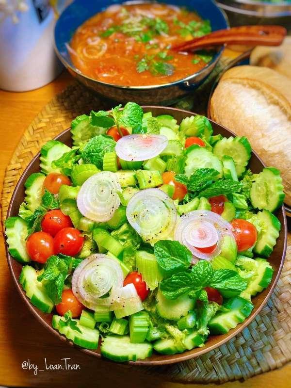 Tổng hợp 11 công thức Cách làm món Salat ngon xịn mịn, Salat đẹp da 3