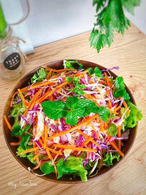 Tổng hợp 11 công thức Cách làm món Salat ngon xịn mịn, Salat đẹp da 9