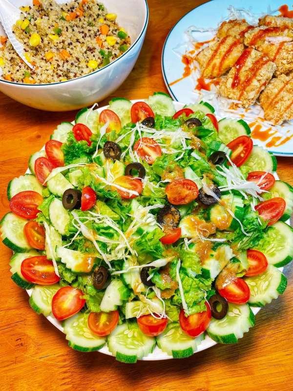Tổng hợp 11 công thức Cách làm món Salat ngon xịn mịn, Salat đẹp da 5