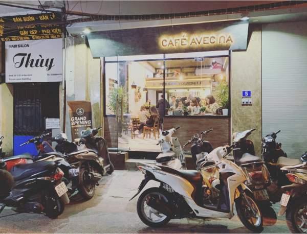 [Review Cafe Trứng] - Avec Na Cafe - số 5 ngõ Lê Đại Hành 2