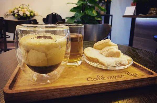 [Review Cafe Trứng] - Avec Na Cafe - số 5 ngõ Lê Đại Hành 10