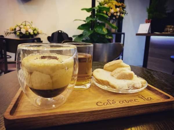 [Review Cafe Trứng] - Avec Na Cafe - số 5 ngõ Lê Đại Hành 3