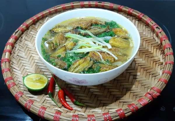 4 Công thức Món ăn Thái Bình : Canh cá rô đồng, Xôi cá rô, con don, Chả rươi 3