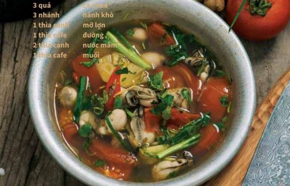 Canh hàu nấu chua - Công thức nấu canh hàu cực ngon 71