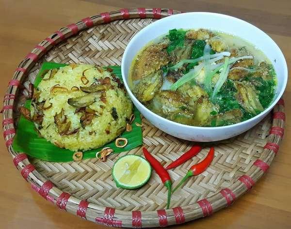 4 Công thức Món ăn Thái Bình : Canh cá rô đồng, Xôi cá rô, con don, Chả rươi 5