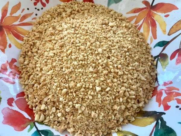 Món ăn Chay : Đậu phộng muối mè 5