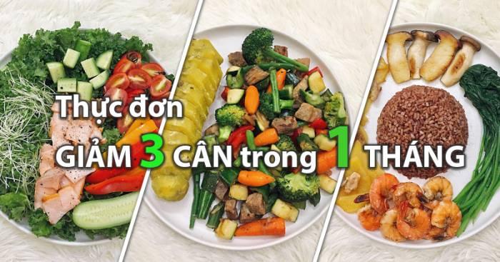 Thực đơn giúp bạn giảm 3 cân trong 1 tháng. Hoàn toàn có thật 6