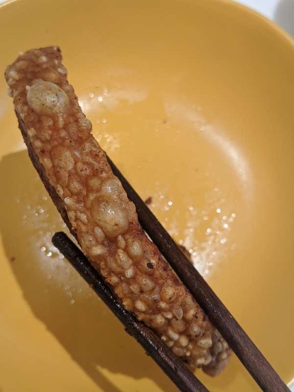 Heo quay giòn bì - Thịt Heo quay giòn bằng nồi chiên không dầu cực ngon mì ăn liền 3