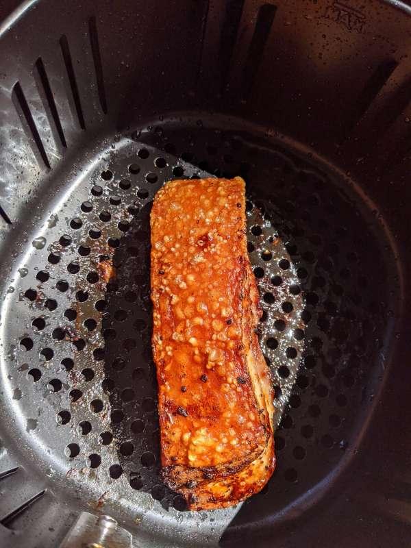 Heo quay giòn bì - Thịt Heo quay giòn bằng nồi chiên không dầu cực ngon mì ăn liền 2