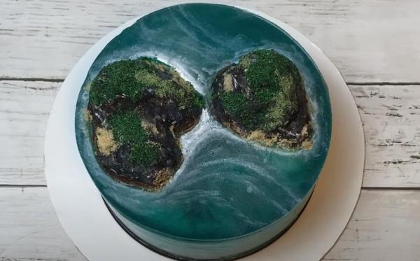 [Công Thức] Cách làm bánh Đảo, Eo Biển cực đẹp xinh 4