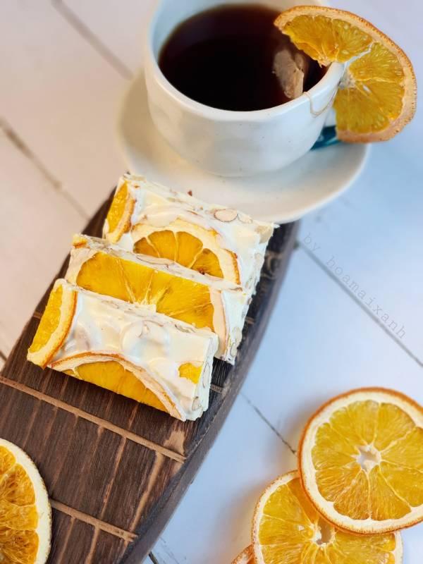 [Công Thức] Cách làm Kẹo Nougat (Kẹo Sữa Hạt - kẹo hạnh phúc) 5