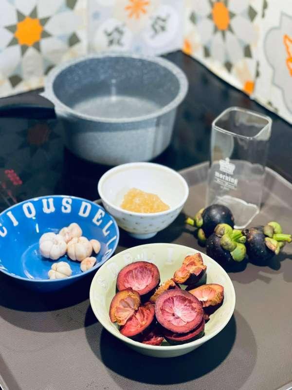Cách làm nước măng cụt - LẠ LẠ, chua thanh mát đổi vị mỗi ngày 2