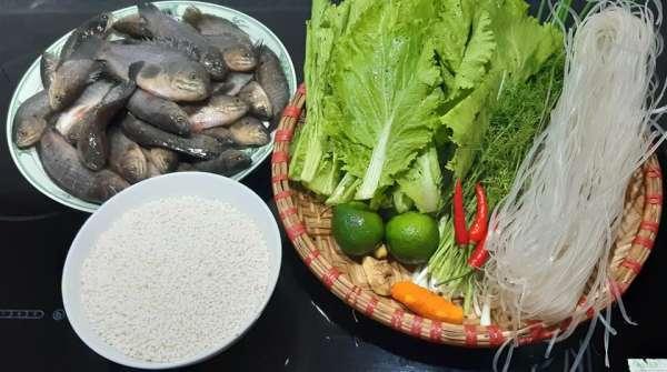 4 Công thức Món ăn Thái Bình : Canh cá rô đồng, Xôi cá rô, con don, Chả rươi 2