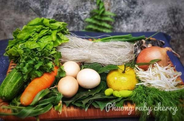 Cách làm món Rươi Rán Trứng, Nem Rươi, Chả Rươi 7