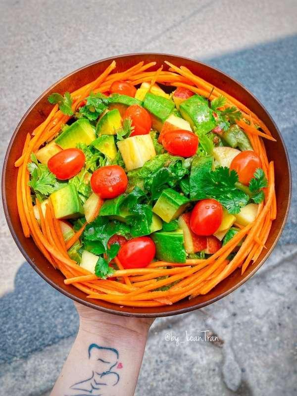 Tổng hợp 11 công thức Cách làm món Salat ngon xịn mịn, Salat đẹp da 6
