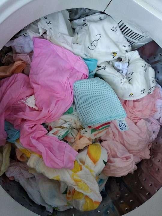 Review túi giặt Magchan, thay thế hoàn toàn nước giặt, bột giặt 300 lần 5