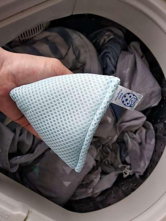 Review túi giặt Magchan, thay thế hoàn toàn nước giặt, bột giặt 300 lần 2